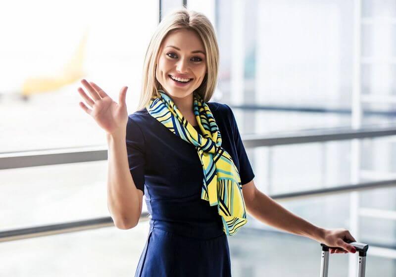 Flight attendant RF