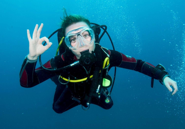 Scuba diver RF